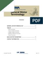 SMMA Motor Glossary