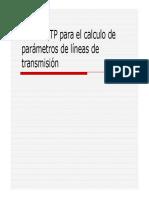 Laboratorio Calculo de Parametros ATP