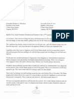 Governor LePage's State of the State Letter 2016