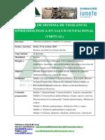 Vigilancia Epidemiologica Virtual 2015