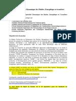 Dynamique Des Fluides Energetique Et Transferts