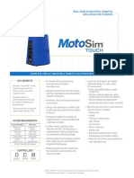 Moto Sim Touch