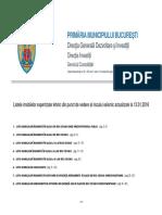 Lista Imobilelor Expertizate 05937000 19134900