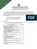 Edital Mestrado UFSC 2016