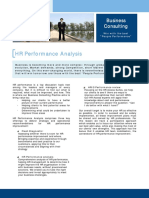 Business Consulting Performance Analysis