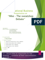 Nike case study harvard business review