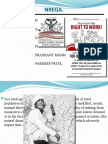 NREGA - Social welfare Scheme -  Sandeep