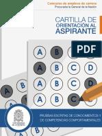Cartilla  - Procuraduria concurso