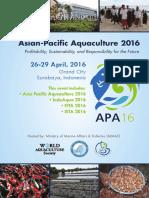 Asian - Pasific Aqua Culture Maret 2016 Bochure