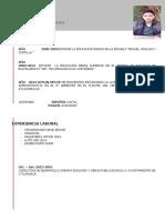 Curriculum Antonio Sanchez