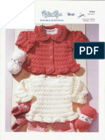 KNIT - Peter Pan p966 - Cardigan and Tunic [0m-5y]