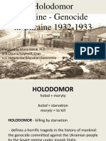 Holodomor Famine and Genocide in Ukraine