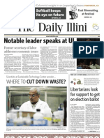 The Daily Illini - Tuesday, April 13, 2010