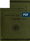 ANALYSIS OF A SIMPLE SAL
