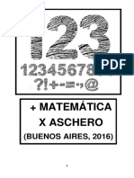 + Matemática x Aschero
