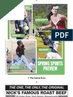 Salem News 2010 Spring Sports Preview