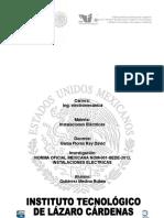 Sintesis de La Norma Nom-001-Sede-2012