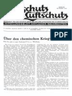 Gasschutz Und Luftschutz 1937 Nr.3 März