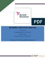 harpic case study analysis
