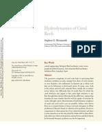 Hydrodynamic of reefs