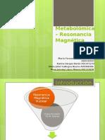 Metabolomica resonancia magnetica