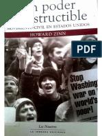 Howard Zinn Un Poder Indestructible