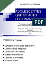 adolescentes_autolesiones