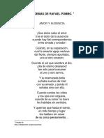5 Poemas de Rafael Pombo