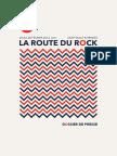 la Route du Rock - collection hiver 2016