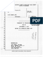 Grand Jury Testimony