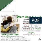 CCM Postcard - Why Buy Now