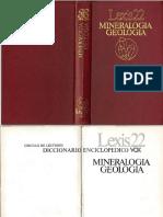 Diccionario Enciclopédico de Geología [Vox]