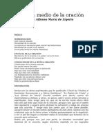 San Alfonso María de Ligorio - El gran medio de la oración.rtf
