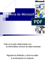 Historia Microsoft