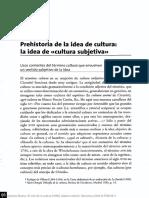 Desarrollo Prehistórico de La Cultura