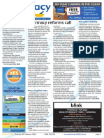 Pharmacy Daily for Tue 09 Feb 2016 - PSA calls for pharmacy reforms, Pharmacists in clinics, Drug name updates, Guild Update and much more
