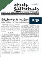 Gasschutz Und Luftschutz 1937 Nr.11 November