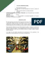 GUÍA 001 DE ALMACENAMIENTO
