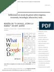 """Reseña de """"Y Google, ¿Cómo Lo Haría_"""" de Jeff Jarvis _ Un Bosque de Matices"""