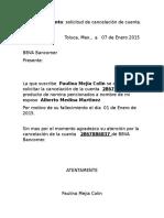 Carta Banco formato