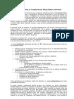 14.2. Segunda República - Constitución de 1931 y bienio reformista.
