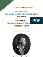 Lehninger LCA Ch13