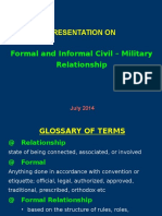 Formal Informal CMR