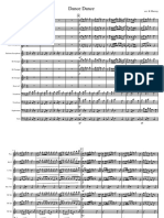 Dance Dance Full Band Arrangement Score and Parts