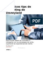 5 Mágicos Tips de Marketing de Disneyland