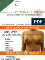 Semiología de Mama y Abdomen Gineco I