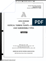 AWWA E 101 (Vertical Turbine Pumps).pdf