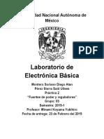 Práctica 2. Electrónica Básica
