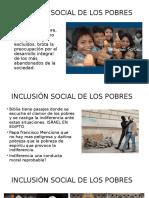 Inclusion de Los Pobres 2016