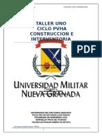 TALLER DOS Mauricio Candiales